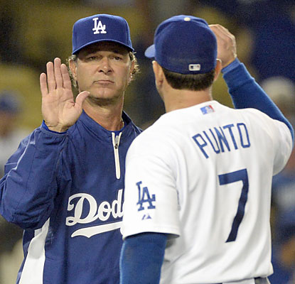 Don Mattingly's Dodgers reel out seven consecutive victories, the club's longest win streak since May 2010. (USATSI)