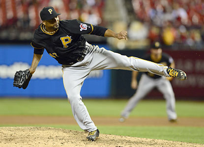 Francisco Liriano torches the Cardinals with a four-hitter as the Pirates move their NL Central lead to three games. (USATSI)