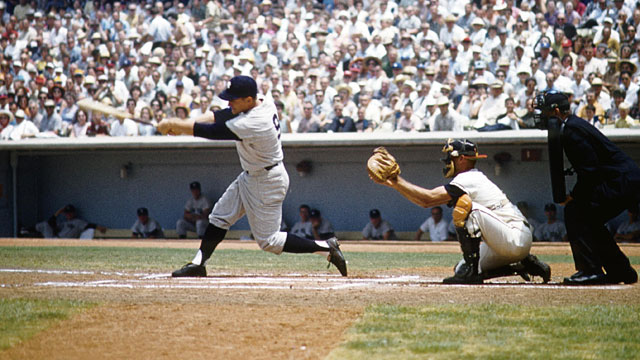Unlike the men who surpassed his HR record, Roger Maris never faced steroid questions. (USATSI)