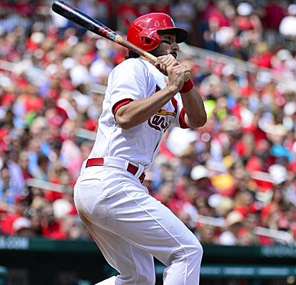 Matt Carpenter contributes four hits and scores the winning run in the Cardinals' victory over Pittsburgh. (USATSI)