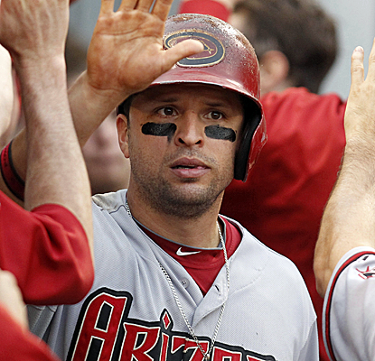 Martin Prado collects four hits, including a three-run homer, to help the Diamondbacks to a rout of the Pirates.  (USATSI)