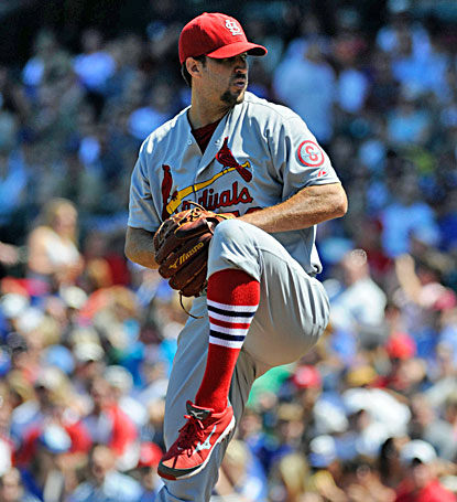 Adam Wainwright strikes out 11 and allows one run through seven innings as the Cardinals take down the Cubs. (USATSI)