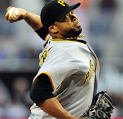 Francisco Liriano strikes out 13 for his 14th win of the year as the Pirates get past the Padres on Monday.  (USATSI)