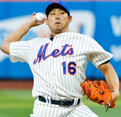 Welcome back to the majors, Dice-K. The high-powered Tigers tag Matsuzaka for five runs in his Mets debut.  (USATSI)