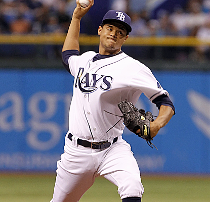 Chris Archer continues to have success against the Yankees, striking out four in a Rays victory.  (USATSI)