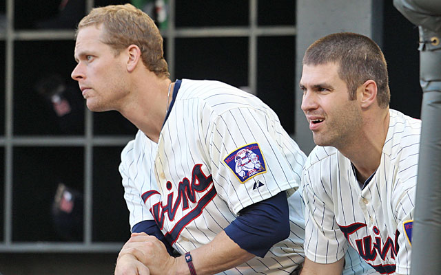 The Twins appear ready to break up their M&M MVP combo of Justin Morneau and Joe Mauer. (USATSI)