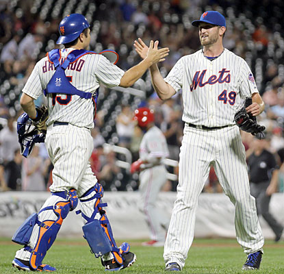 Mets starter Jonathon Niese three-hits the Phillies for his second career complete game. (USATSI)