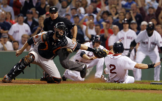 The Orioles' playoff hopes are sliding while the Red Sox look like a solid pick to make it to October. (USATSI)
