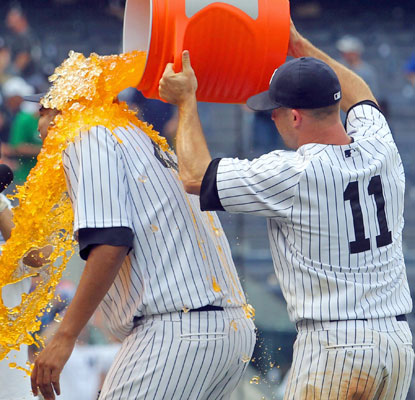 Brett Gardner cools off the red-hot Ivan Nova, who three-hits the Orioles in his first career shutout. (USATSI)