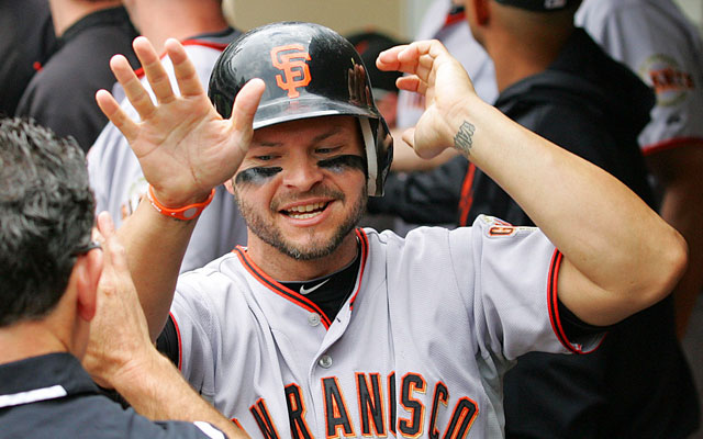Cody Ross, plucked off the wire by the Giants in 2010, helped lead them to a World Series title. (USATSI)