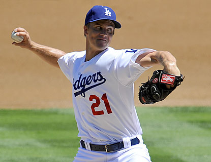 Zack Greinke records his 14th win as the Dodgers complete their 10th series sweep of the season. (USATSI)