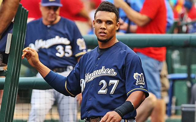 Carlos Gomez's subpar August might have ended the argument about his MVP candidacy. (USATSI)