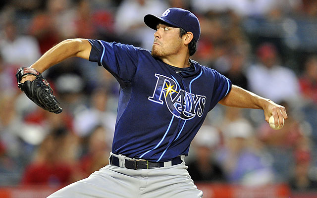 The Rays boast several strong arms in their rotation, but they won't help if the bats don't do their part. (USATSI)