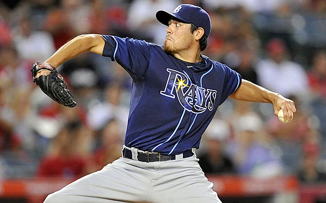 After spending August on the disabled list, Matt Moore gives the Rays a September boost.