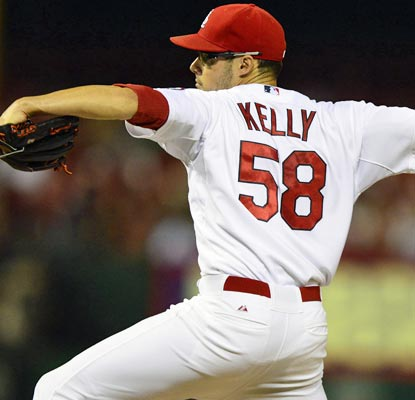 Joe Kelly has emerged as a stopper for the Cardinals and is 8-0 in 11 appearances since late June.  (USATSI)