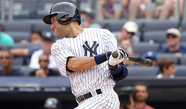 Derek Jeter is batting .182 since returning to lineup on Aug. 26. (USATSI)