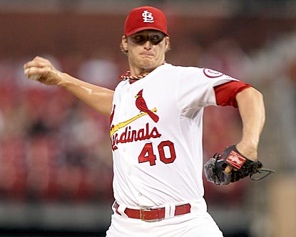 Rookie Shelby Miller pitches 6 2/3 scoreless innings to help keep St. Louis a game ahead of Pittsburgh.  (USATSI)