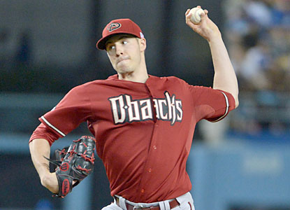 Patrick Corbin gets back in the win column as he helps the D-Backs avoid a sweep against the Dodgers. (USATSI)