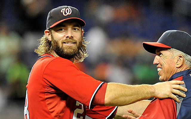 Jayson Werth as National League MVP? Not quite ... at least not yet. (USATSI)