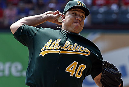 Bartolo Colon outpitches Yu Darvish and helps the A's stretch their division lead to 5 1/2 games over the Rangers. (USATSI)