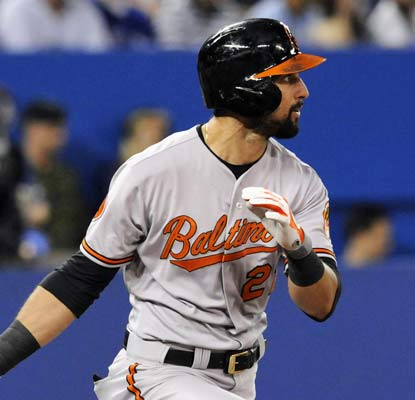 Nick Markakis and the Orioles win their first road series since beating the Giants in early August.  (USATSI)