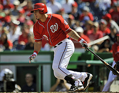 Wilson Ramos provided the Nationals with some big hits, keeping up Washington's late playoff push. (USATSI)