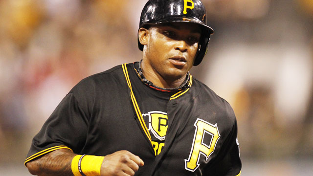 At 35, Marlon Byrd has elevated his game to become a big contributor for the contending Pirates. (USATSI)
