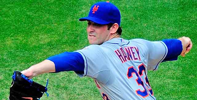 Tommy John surgery is still on the table for Matt Harvey, but he'll try rehab first. (USATSI)