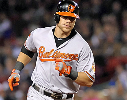 Baltimore's Chris Davis contributes his MLB-leading 51st home run to the Orioles' win over Boston. (USATSI)