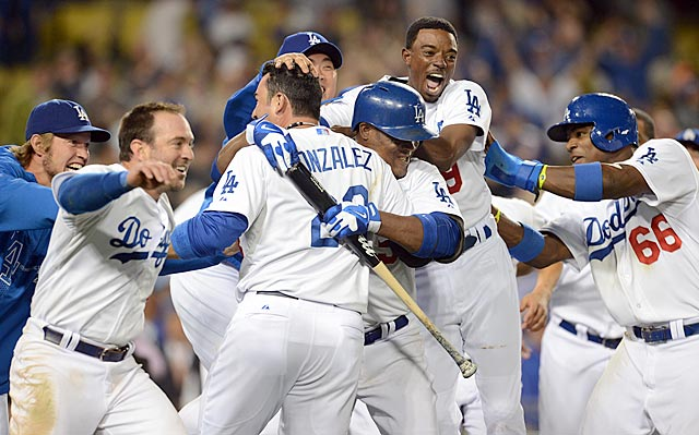 It took the Dodgers two months to get going, but once they did, it was something to behold.