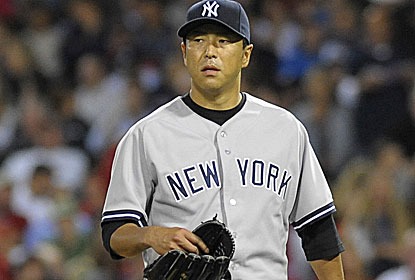 Hiroki Kuroda and the Yankees drop the series in Toronto to fall three games back for the second AL wild card. (USATSI)
