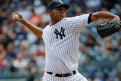 Ivan Nova fires his second career shutout to help the Yankees -- who enter three games out -- stay close for a wild-card spot. (USATSI)