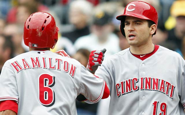 With Billy Hamilton on the base paths and Joey Votto at bat, the Reds could be a tough out. (USATSI)