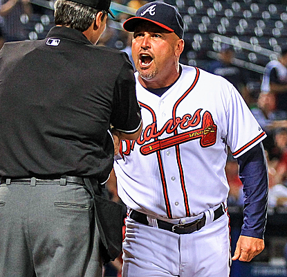 Even though the Braves have already clinched the NL East, Fredi Gonzalez is still managing all out. (USATSI)
