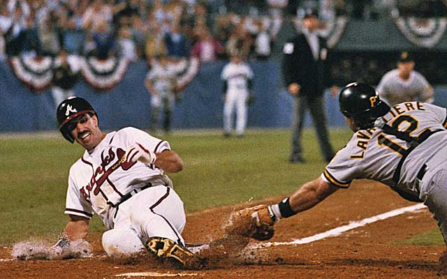 Sid Bream says he could have been the goat in Game 7 and not the hero. (Getty Images)