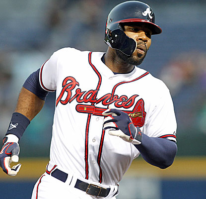 Jason Heyward starts off a monster 5-hit night with a home run for the Braves in the first inning. (USATSI)