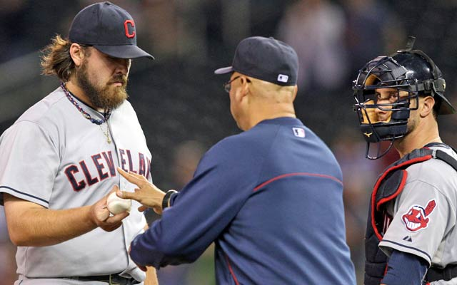History tells us the Indians can overcome Chris Perez's struggles and find a closer. (USATSI