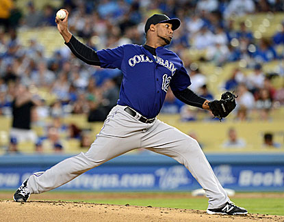 Colorado starter Juan Nicasio outduels the Dodgers' Zack Greinke for his first victory in six starts. (USATSI)