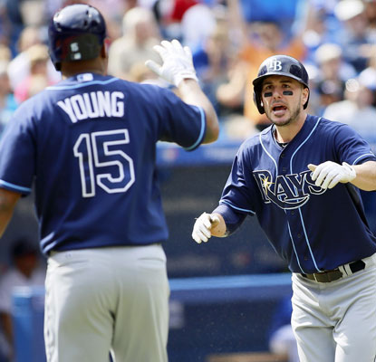The Rays, fighting for the playoffs, hold on for dear life to edge the Blue Jays in a pivotal Game 162.  (USATSI)