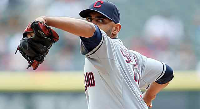 Danny Salazar has struck out 65 in 52 innings this season. (USATSI)