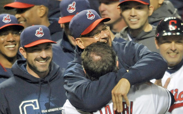 Francona: 'It's like the culmination of everything you've gone through ... It's just pure joy.' (USATSI)
