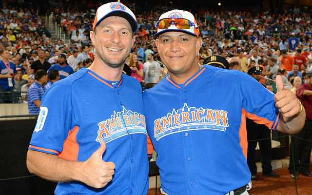 Midsummer stars to winter winners? Tigers teammates Scherzer and Miggy deserve AL hardware. (Getty Images)