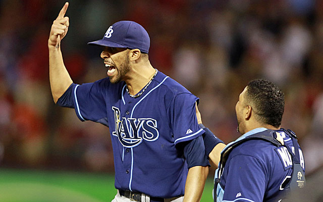 David Price pitches a complete game to send the Tampa Bay Rays into the MLB postseason. (USATSI)