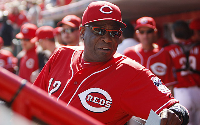 Dusty Baker challenged GM Walt Jocketty to fire him ... and he did. (USATSI)