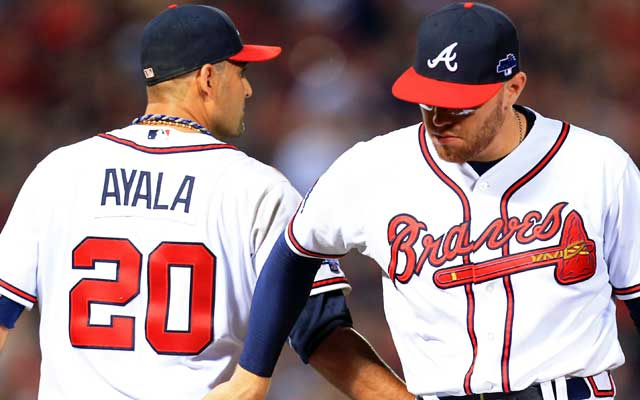 The workman-like Braves salvage a win at home before heading to Los Angeles for Games 3 and 4. (USATSI)