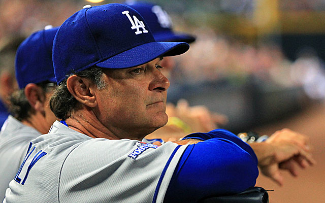 The Dodgers didn't pick up manager Don Mattingly's option during the season, so should he be worried? (USATSI)