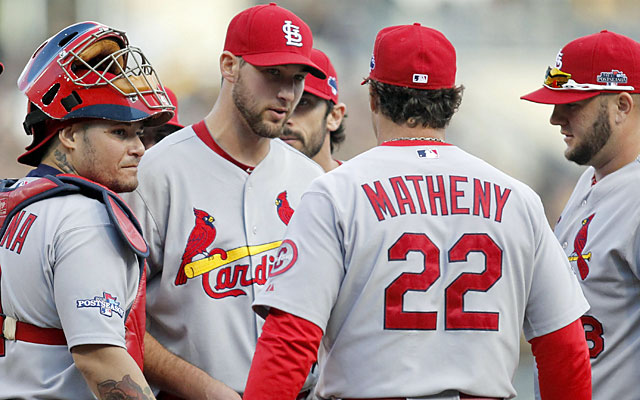 The Cards purposely kept Wacha's inning total down to ensure he'd be ready in October. (USATSI)