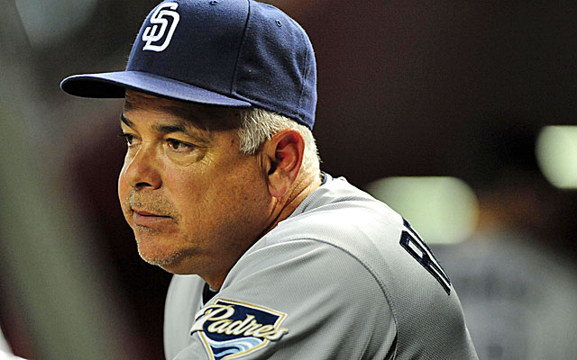 Padres coach Rick Renteria is a possibility if the Cubs don't land Joe Girardi as their new manager. (USATSI)