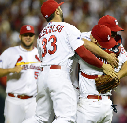 The Cardinals, 8-1 in elimination games in the last three seasons, will host the Dodgers Friday in Game 1 of the NLCS.  (USATSI)
