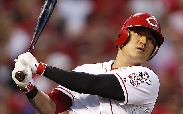 Shin-Soo Choo has one of baseball's highest on-base percentages. (USATSI)